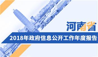 图解:河南省2018年政府信息公开工作年度报告