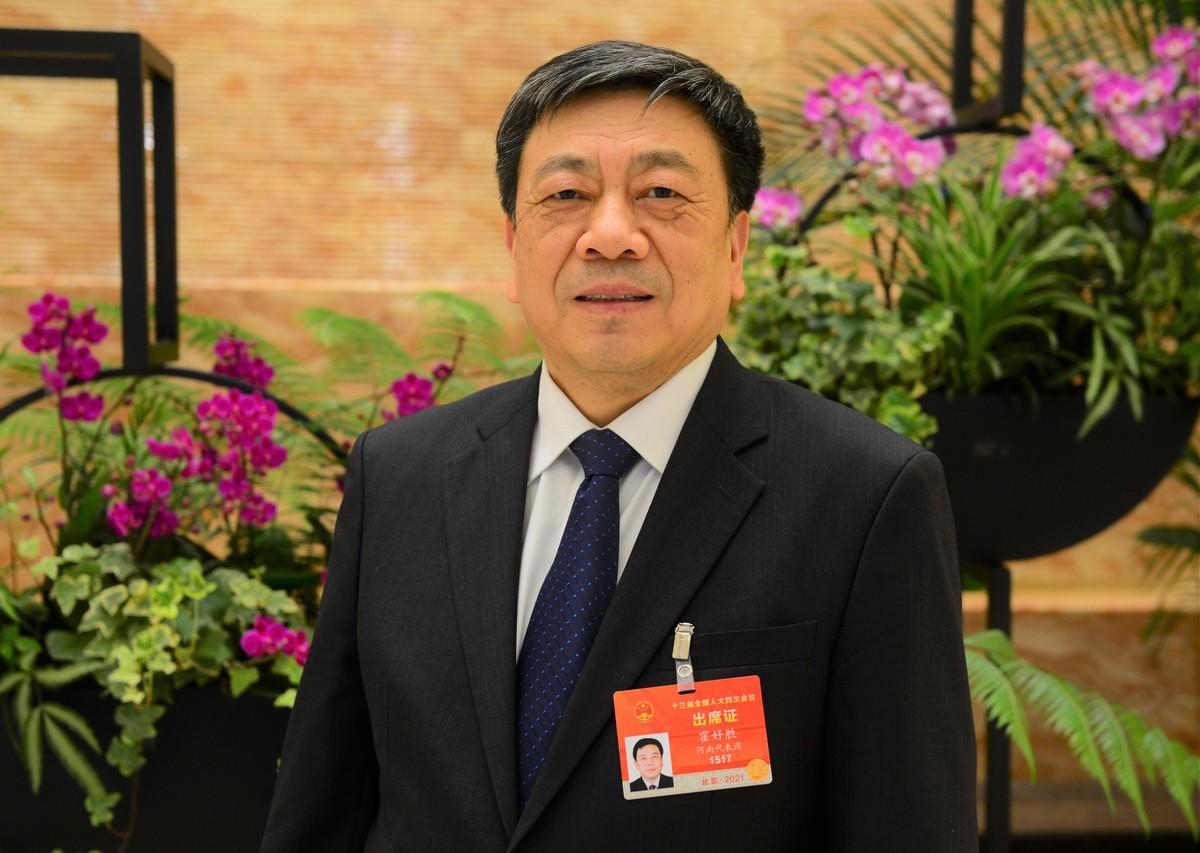 全国人大代表、南阳市市长霍好胜:全面建成小康社会 在现代化新征程上奋勇争先
