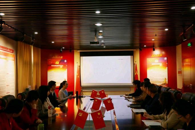 """洛阳市文物局东方博物馆之都""""红色记忆""""百场宣讲活动之走进洛阳市财政局"""