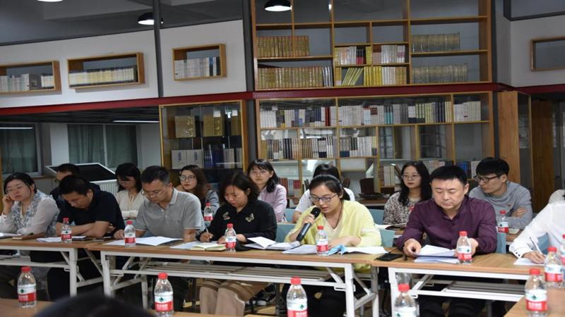 """河南省文物局与河南省图书馆联合开展""""青春向党 奋斗有我""""主题座谈会"""