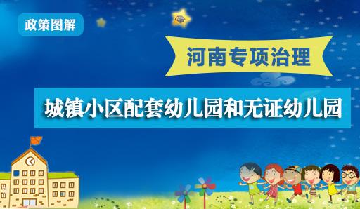 图解:河南专项治理小区配套幼儿园和无证幼儿园