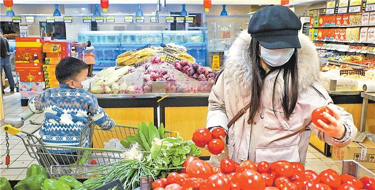"""糧油庫存足超市供應穩 """"有料""""鄭州""""喊你""""理性消費"""