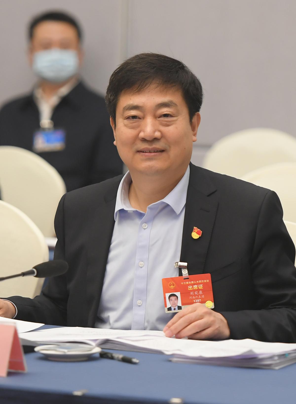 全国人大代表、洛阳市市长刘宛康:弘扬黄河文化 激发前进动力