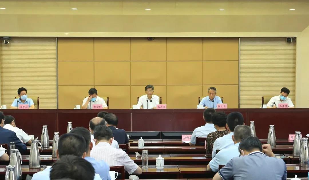全省2021年耕地保护督察工作动员部署电视电话会议召开