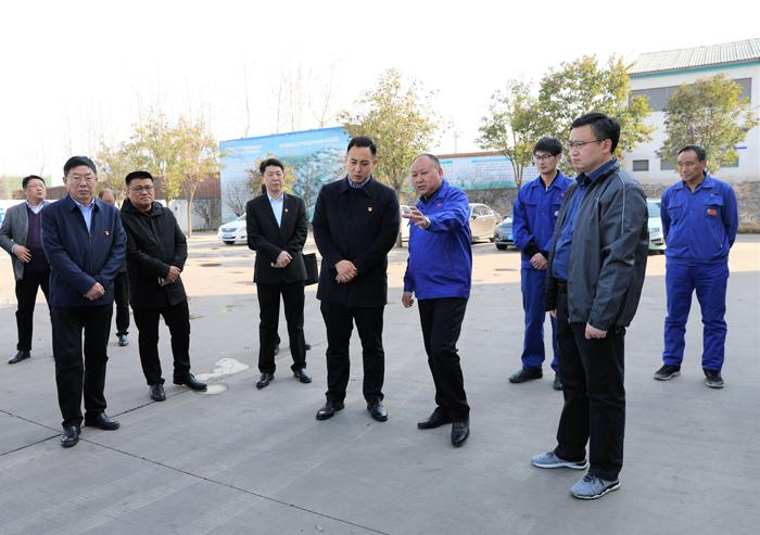 鹤壁市山城区委副书记关越检查指导节后安全生产工作