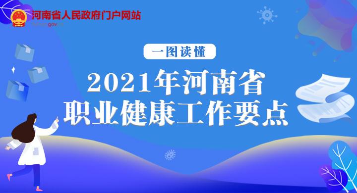 一图读懂:2021年河南省职业健康工作要点