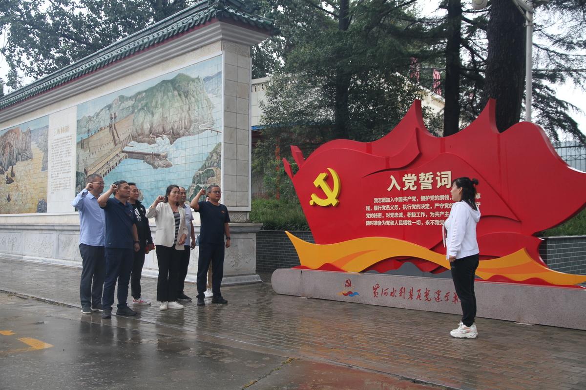 河南省林科院深入开展支部共建手拉手活动