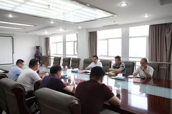 洛阳市人防办召开人防防护设备行业座谈会