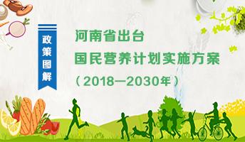 图解:河南省出台国民营养计划实施方案