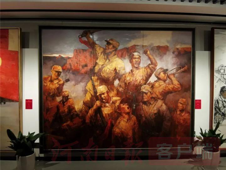 """""""红船颂""""两大展览在浙江嘉兴开展,河南多件作品亮相"""