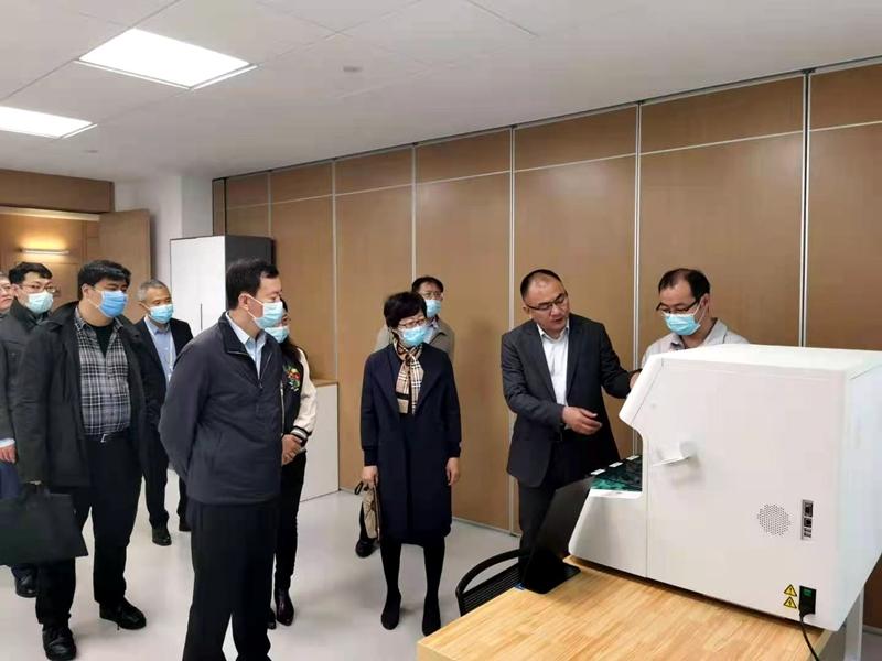 国家药监局医疗器械监管司到郑州安图生物工程股份有限公司调研