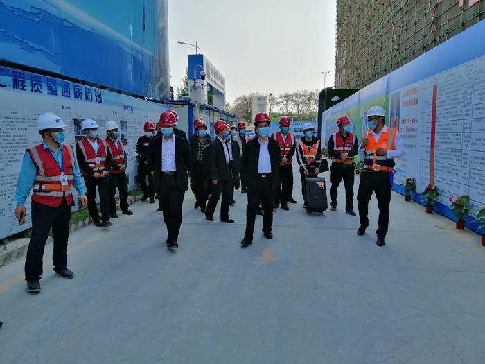 省安委會駐地指導組對鄭州市二七區開展 安全檢查調研工作