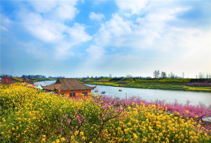 河南指南-西华:桃花源第十七届桃花节于3月22日开幕
