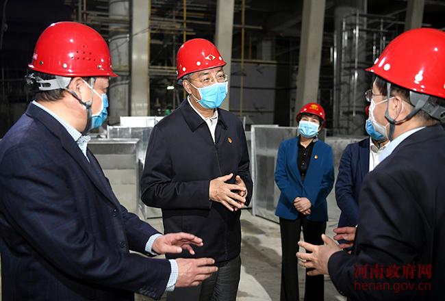 尹弘调研省级公共文化重点项目建设时强调 不断完善公共文化服务体系