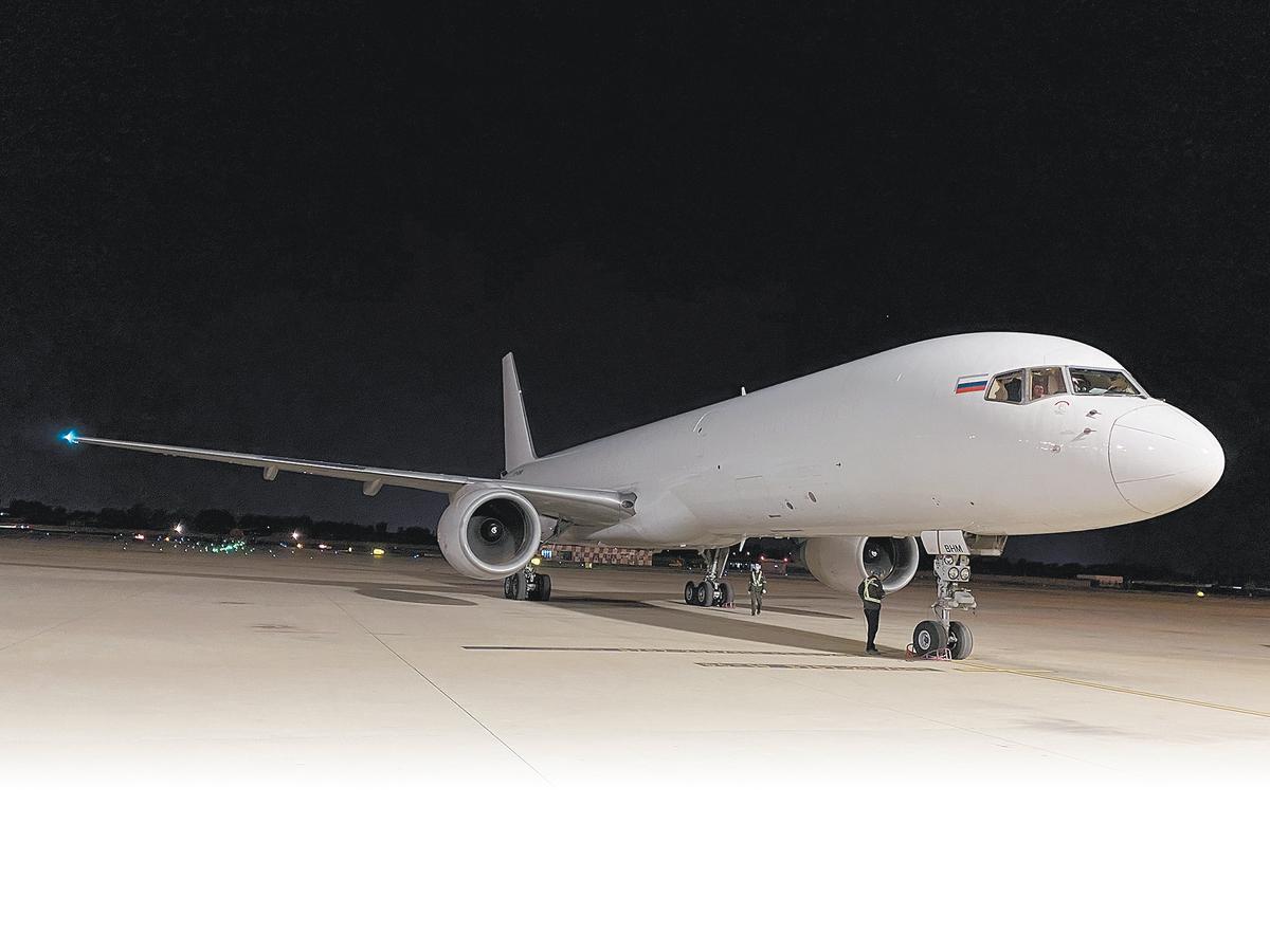 郑州至雅典定期货运航线启航