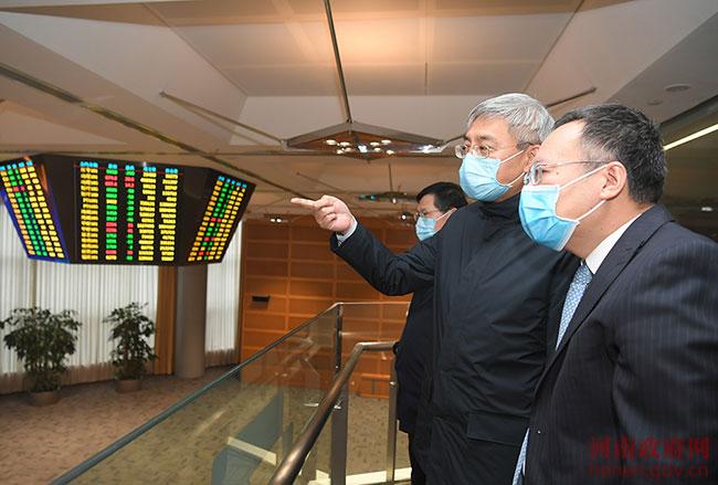 """尹弘调研河南自贸区建设:打造开放""""高地"""""""