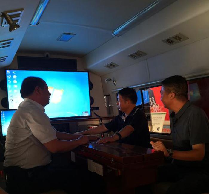 省安委会办公室暗访检查三门峡市安全生产专项整治三年行动和双重预防体系建设