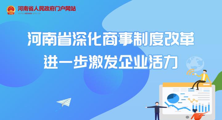 圖解:河南省深化商事制度改革 進一步激發企業活力