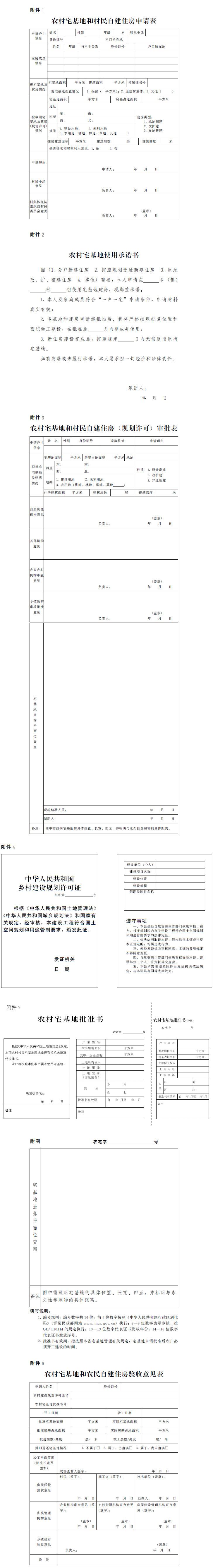 河南省人民政府关于印发河南省农村宅基地和村民自建住房管理办法(试行)的通知