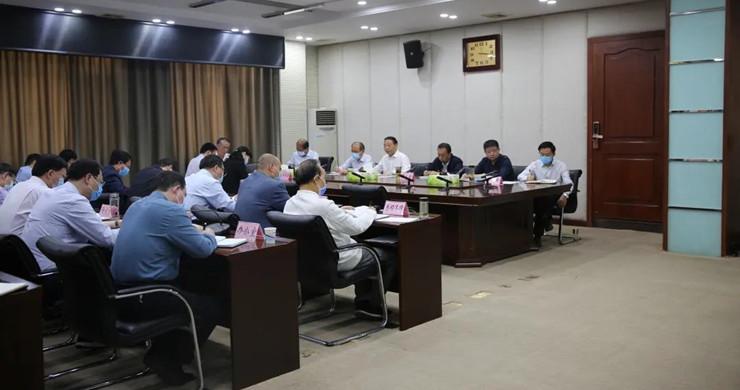 省林业局召开党组扩大会议认真传达学习习近平总书记重要讲话精神