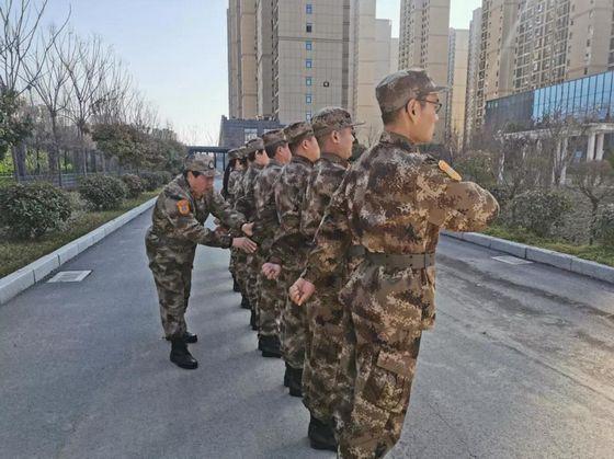 """邓州人防对标作风建设 """"新年第一训""""定位新标准"""