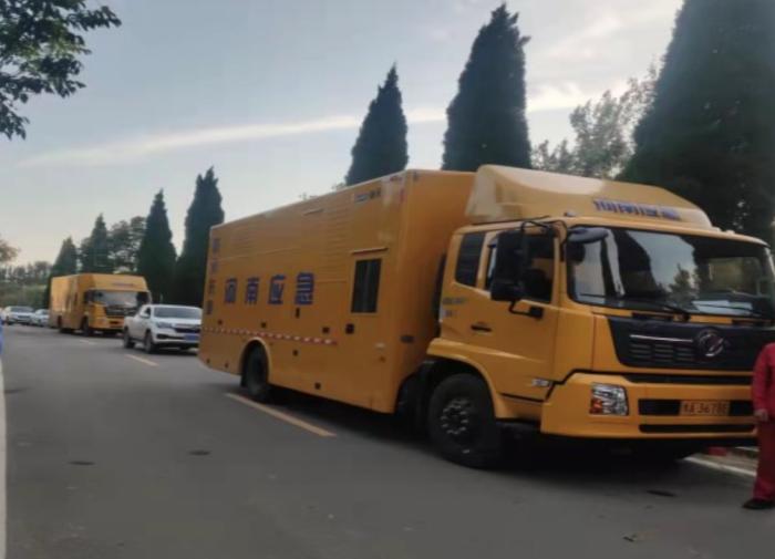 河南省应急救援排水中心赴濮阳执行防汛救灾任务