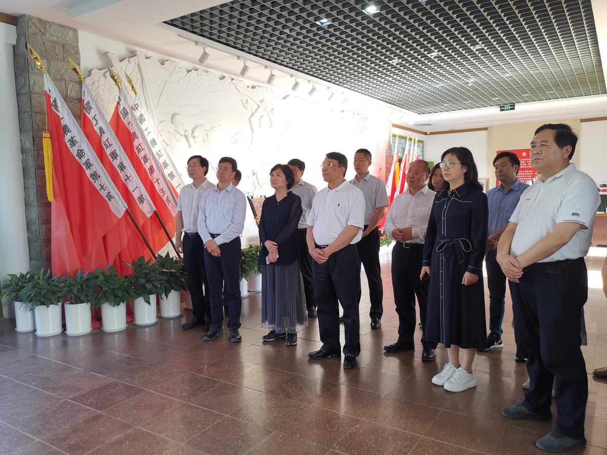 中国教育学会会长朱之文一行调研我省基础教育工作