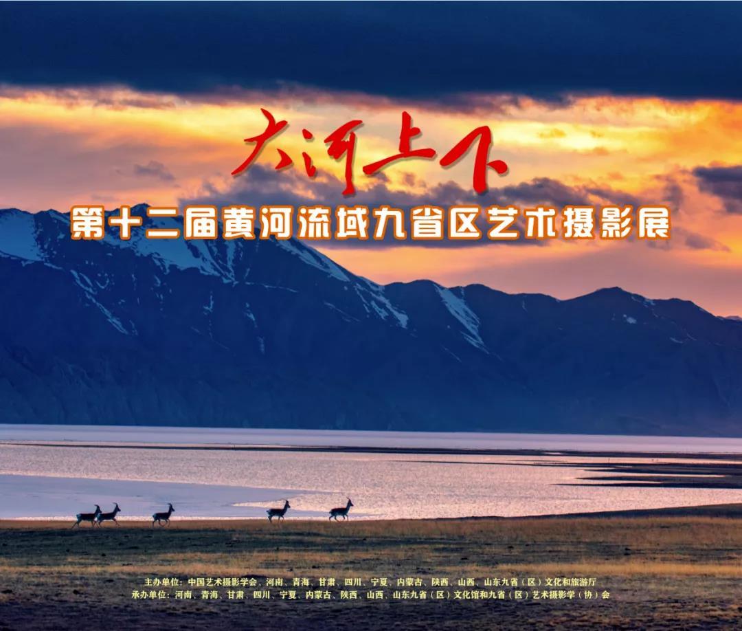 第十二届黄河流域九省(区)艺术摄影展开幕