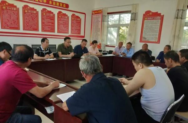 省大数据局驻村第一书记给全村党员上党课