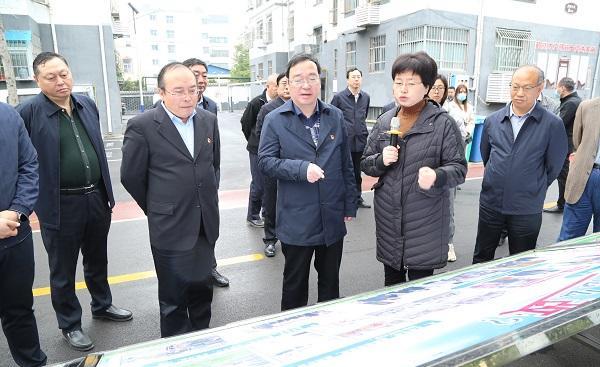 厅党组成员、副厅长巩魁生到鹤壁市<br>调研指导城镇老旧小区改造工作