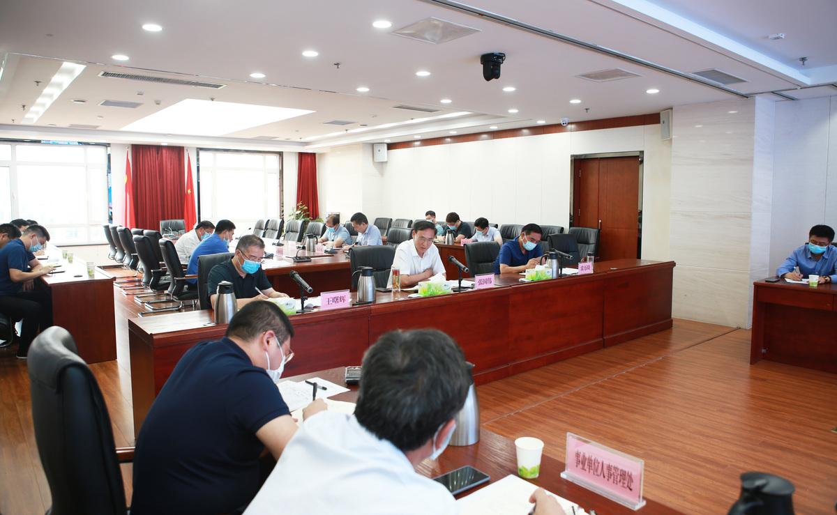 张国伟调研人社电子政务和信息化建设工作