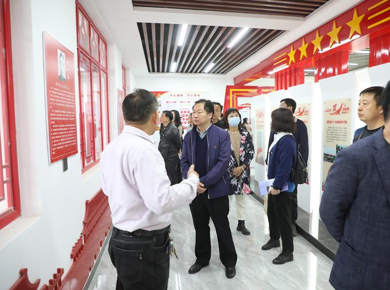 新郑市文广旅体局组织党员干部赴潩水寨红色教育基地参观学习