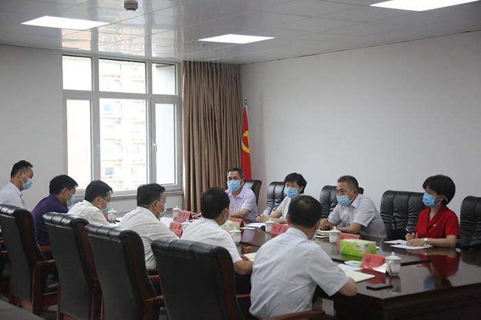 省委直属机关工委对应急管理厅进行节日慰问