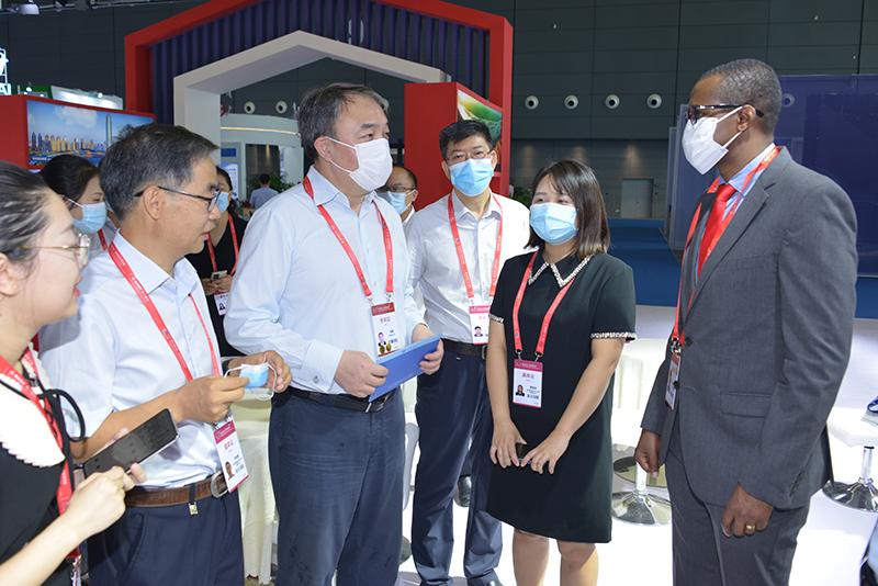省商务厅组团参加第二届中非经贸博览会
