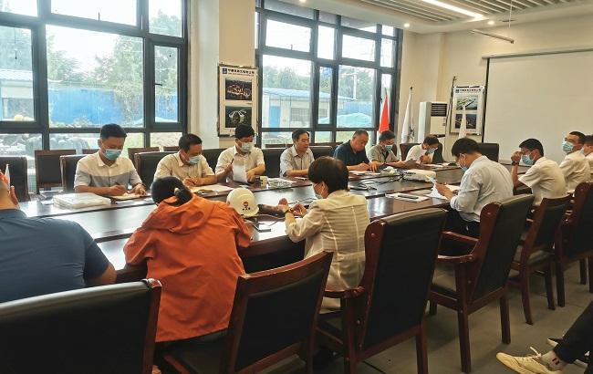 省事管局召开省直青年人才公寓晨晖苑项目现场推进会