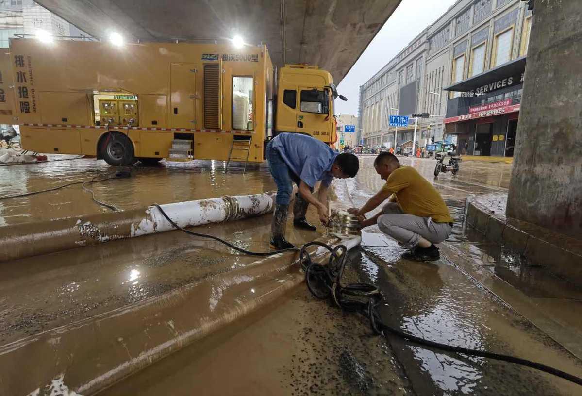 Lens on Zhengzhou after Torrential Rains
