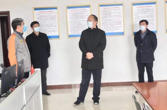省人防办党组书记、主任贾宏伟检查指导疫情防控工作