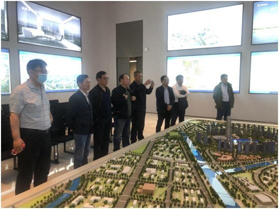 沈阳市政府参事来豫调研金融中心建设和产业发展情况
