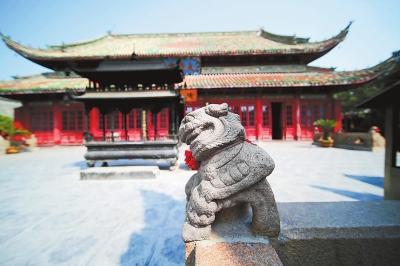 在大相国寺感触历史与文化