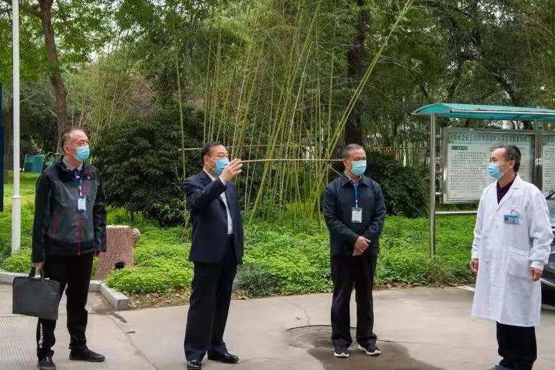 原永胜调研指导河南林业职业学院疫情防控工作