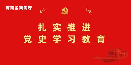 河南省商務廳扎實推進黨史學習教育