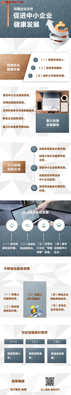 图解:河南出台文件 促进中小企业健康发展