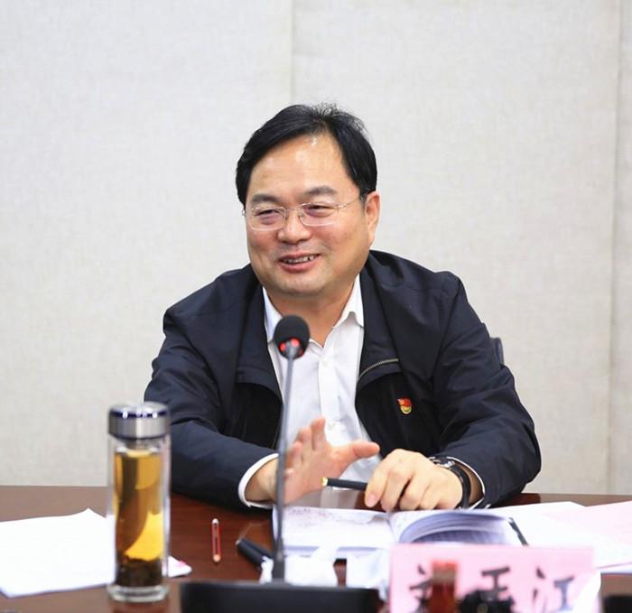 图/文:刘玉江副省长到省林业局调研指导工作