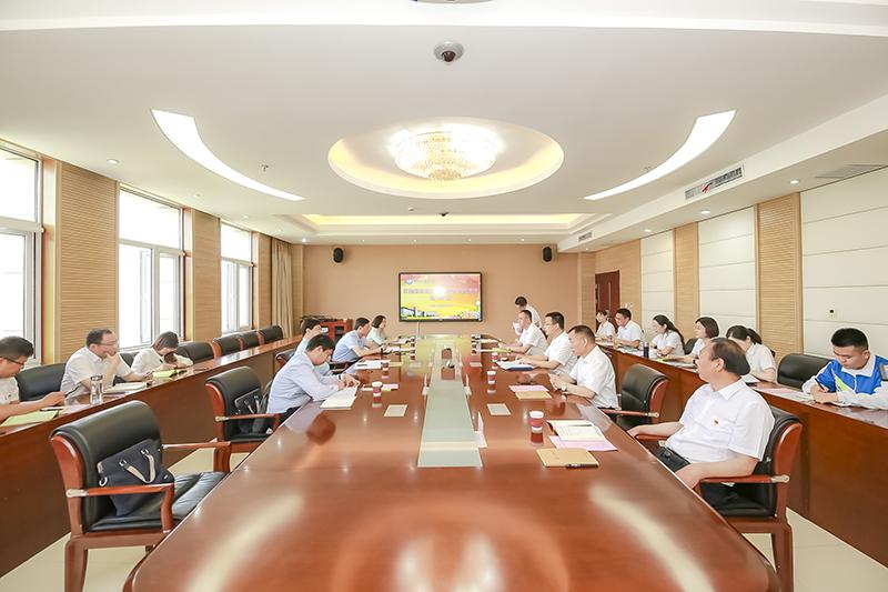 省教育厅党组书记、厅长郑邦山一行到河南经贸职业学院调研指导工作