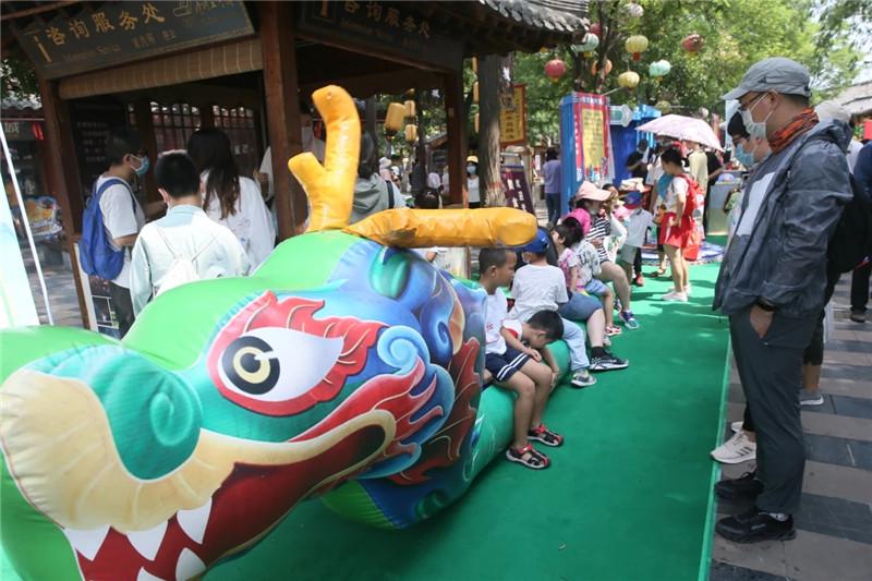 清明上河园上榜端午节全国热门景区