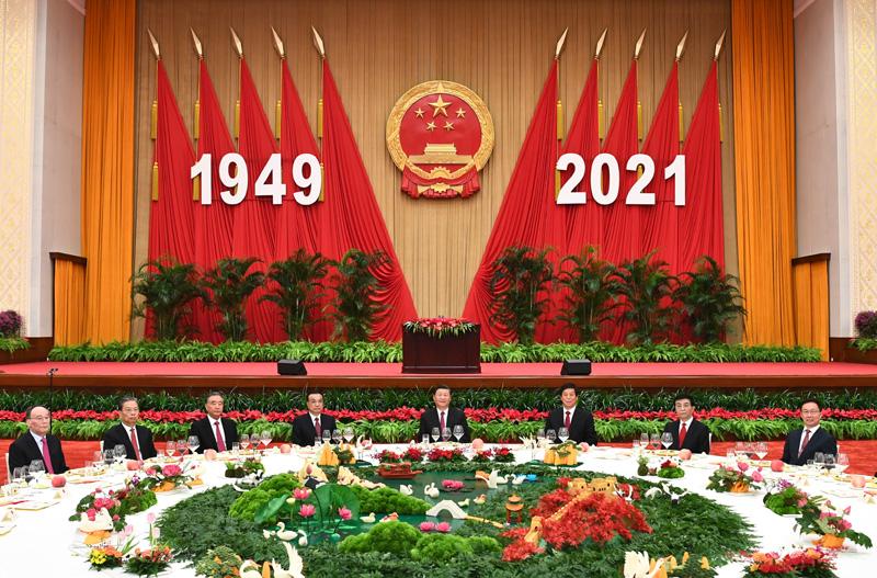 国务院举行国庆招待会 庆祝中华人民共和国成立72周年