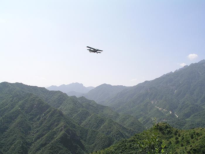 图/文:全省飞播造林已完成3/4以上
