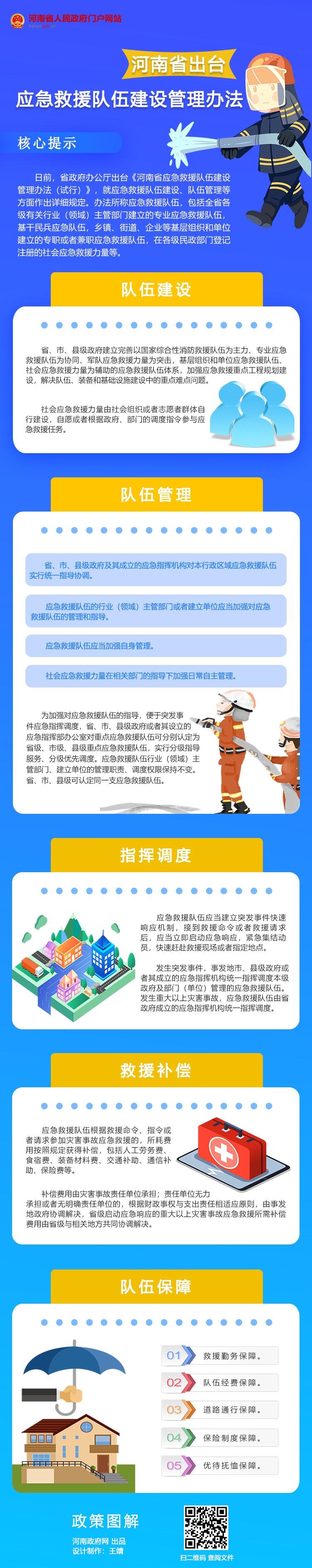 图解:河南出台应急救援队伍建设管理办法