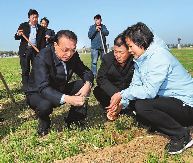 李克強在河南考察時強調 貫徹新發展理念 保障和改善民生 持續推進工業化城鎮化農業現代化