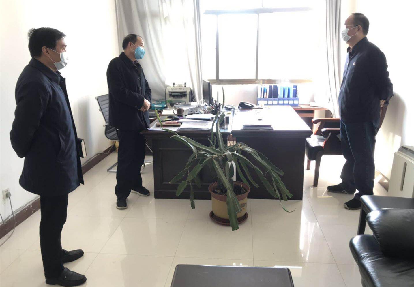 省人防办党组书记、主任贾宏伟深入一线检查指导工作